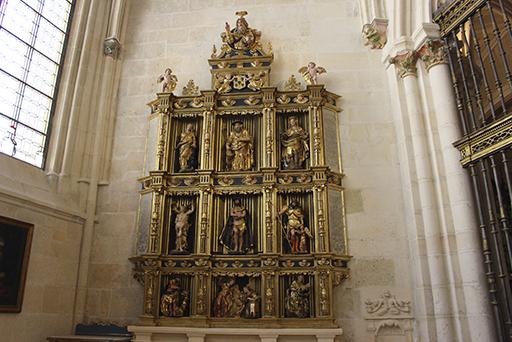 Burgosko Katedralean Anuntziazio Kapera (Juan de Lizarazu)