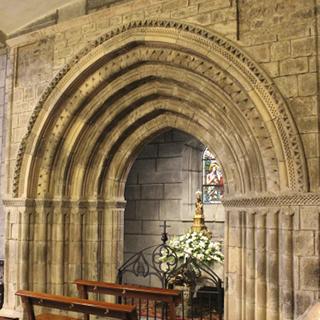 Tolosako Santa Marian jasotako Laskoaingo atea