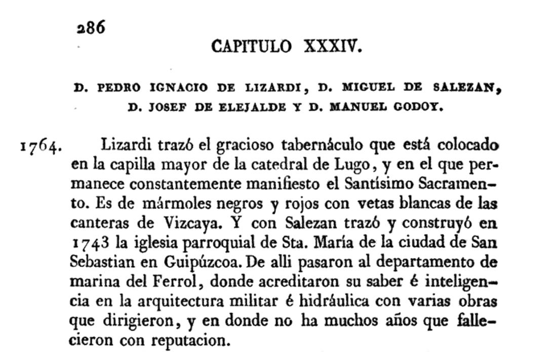 Noticias de los arquitectos y arquitectura de España 1829