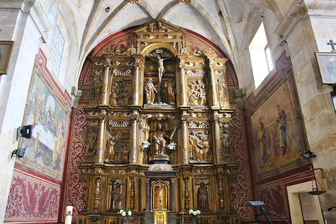 Itsasoko San Bartolome elizako erretaula 1550 Juan de Lizarazu