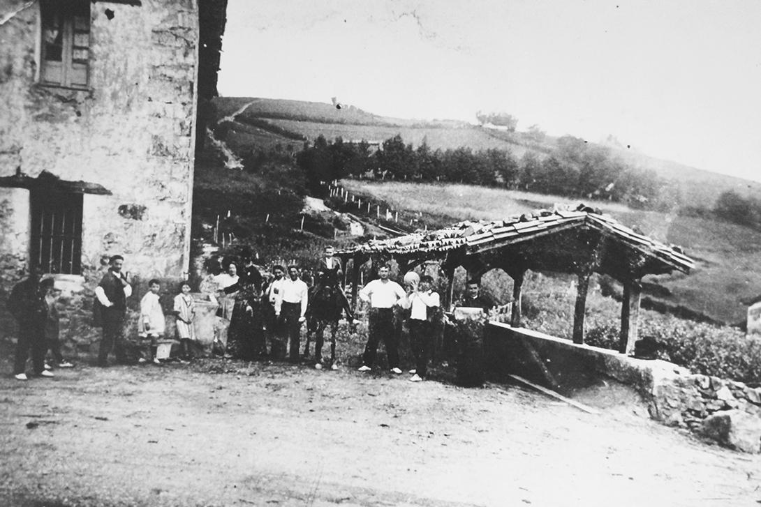 Itsasoko Mandubiko bentako bolalekua 1926an