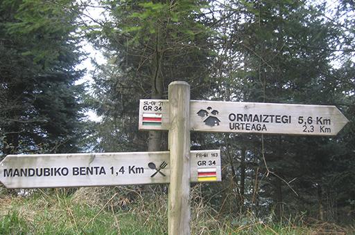 Done Jakue bidea Itsasotik: Altziar bidegurutzea