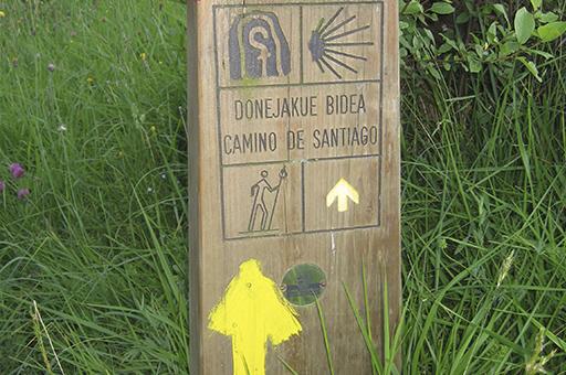 Done Jakue bidea Itsasotik: Urteagako seinalea