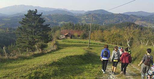 Ruta circular Itsaso-Alegia