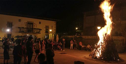 San Juan Bezperako afaria Itsason