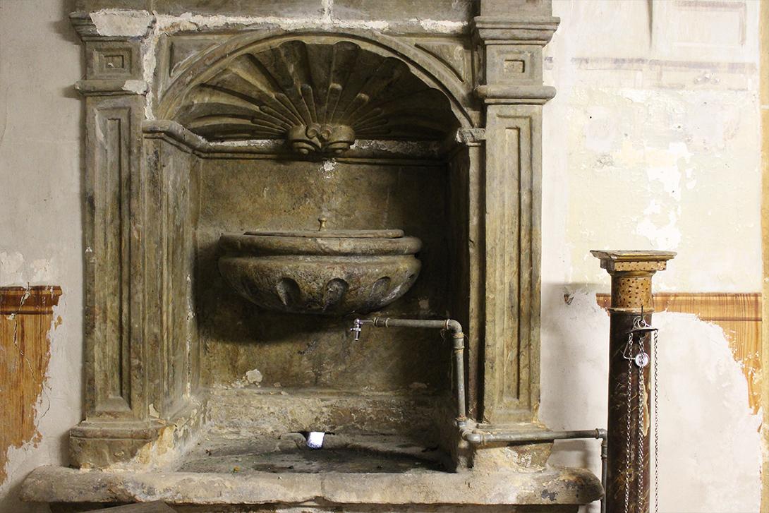 Itsasoko San Bartolome elizako sakristia - Martin de Carrera arkitektoa 1758
